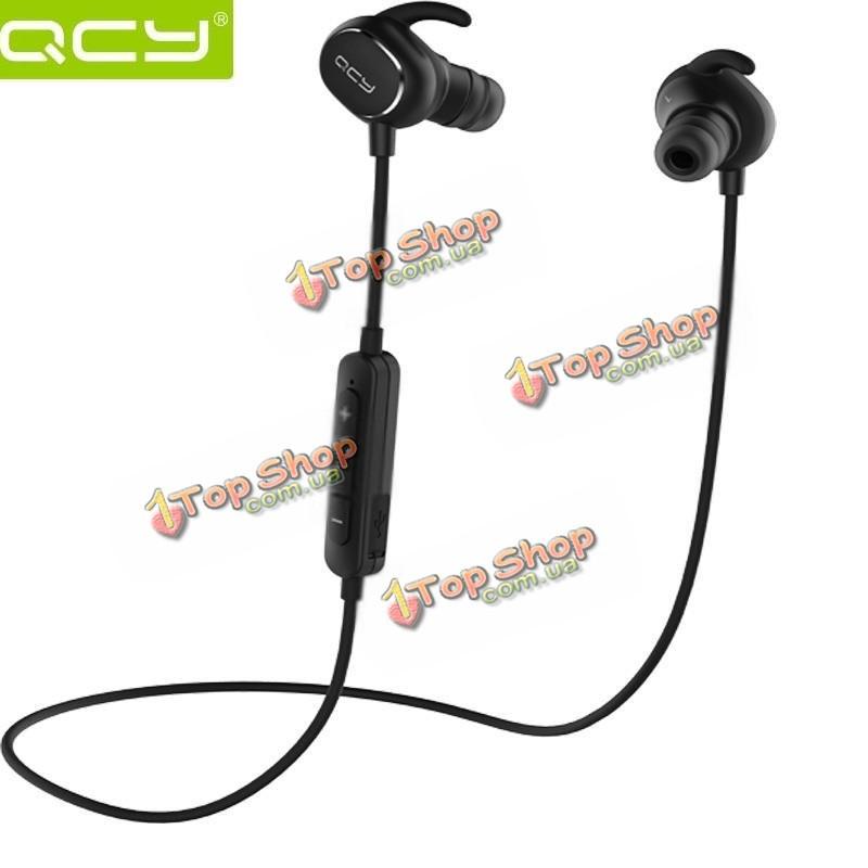 QCY Sport ан-пот беспроводная Bluetooth  4.1 наушники с микрофоном Phantom qy19