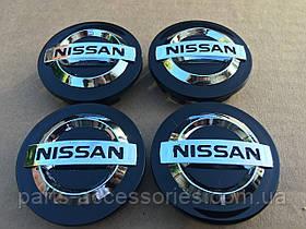 Колпачки в диски Nissan 54mm новые