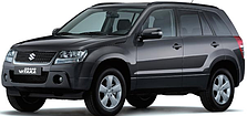 Защита заднего бампера на Suzuki Grand Vitara (2005-2010)