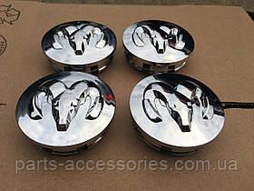 Dodge Ram 1996-2008 ковпачки в диски хромові 63mm нові