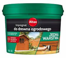 Импрегнат Altax для садовой древесины 10л
