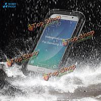Водонепроницаемый защиты от пыли/осень/снег PC + силиконовый чехол крышки открытый для Samsung s7