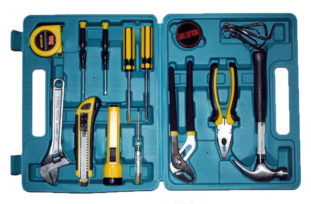 ✅ Универсальный набор инструментов для дома в чемодане, Home Owner`s Tool Set 21 pcs, ремонтный набор | 🎁%🚚