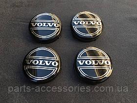 Колпачки в диски (64mm) Volvo 1992-2015 V40-V90, S40, S60, S80, XC60, XC70, XC90 и остальные новые