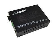 Медиаконвертеры Uplink EMC-101, EMC-102