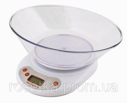 Кухонные весы с чашей ― Electric Kitchen Weighing Scale, электронные