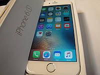 IPhone 6S 16gb Silver white Неверлок. Полный комплект. , фото 1