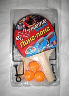 Ракетки с сеткой и мячиками для тенниса