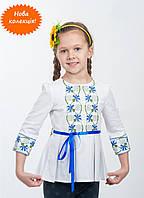 Яркое платье туника на девочку из новой коллекции волынских мастеров
