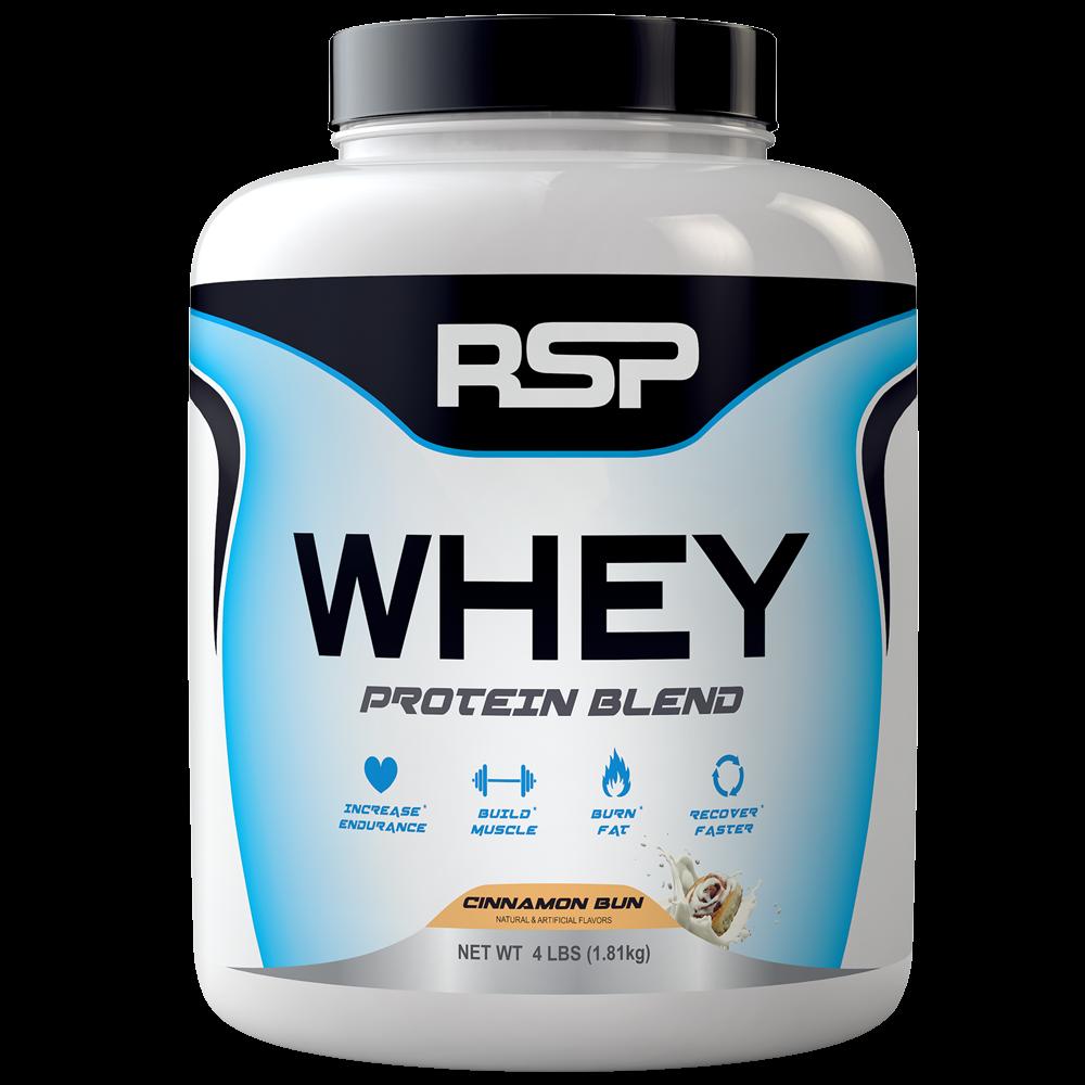 Шикарный протеин !!! RSP WHEY PROTEIN BLEND - 1,81kg - разные вкусы