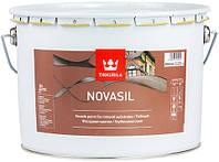 Краска фасадная Новасил Тиккурила база MRA 9 л, фото 1