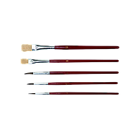 Набор кистей для подкраски (5шт.) FAVORIT