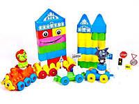 Конструктор для малышей 64 дет., Kinder Way 02-302