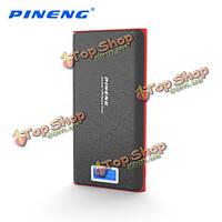 Pineng PN-920 20000мАh Dual USB порт DC5V 2а ЖК-цифровой дисплей PowerBank