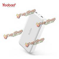 YooBao Yb-M20 20000мАh Dual USB портативный аккумулятор PowerBank