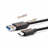 BlitzWolf® BW-CB3 3A USB тип-C обратимым 3.33ft/1м кабель для зарядки данных