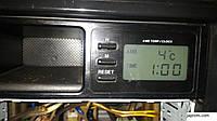 Блок управления часами  Часы салонные Mazda 626 GF