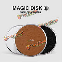 NillKin Magic Disk III стандарт беспроводной Qi зарядное устройство для Samsung iPhone Huawei
