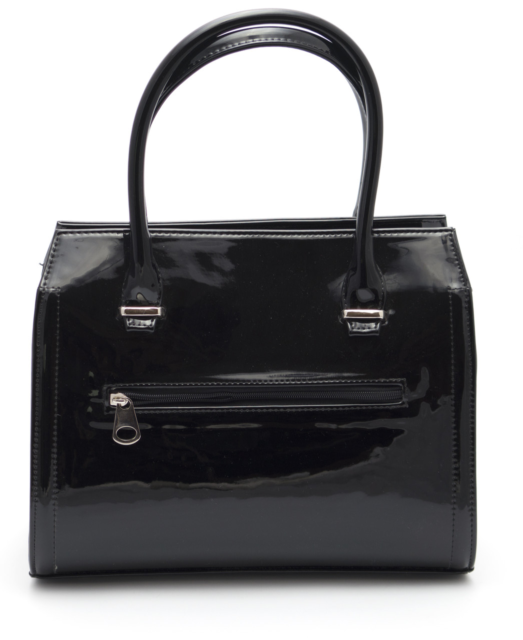 166653b30906 Черная лаковая женская сумка Zgarda Украина art. 35-14: продажа ...