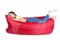 Самонадувной диван - шезлонг Lamzac Hangout (Кресло Матрас Ламзак Хенгаут красный высочайшего качества)