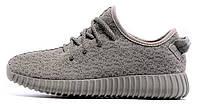 Женские кроссовки Adidas Yeezy Boost 350 Low Moon Grey  (Адидас Изи Буст 350) серые