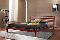 Кровать двуспальная Диана массив ольха