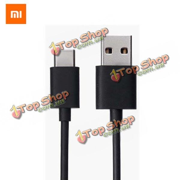 Xiaomi тип-c 100см 2.1a USB 3.0 черный кабель даты зарядного устройства для Xiaomi MI 4c