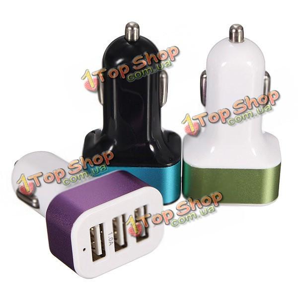 USB порт адаптера 3 5.1a автомобиль авто зарядное устройство для мобильного телефона Tablet
