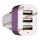 USB порт адаптера 3 5.1a автомобиль авто зарядное устройство для мобильного телефона Tablet, фото 6