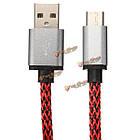 USB 3.1 Тип зарядного устройства данные с оплеткой провода 2м 6.6ft кабель для мобильного телефона ПК Tablet MacBook, фото 3