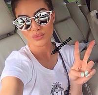Солнцезащитные очки Armani  зеркальные
