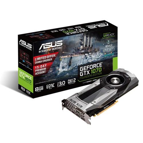Видеокарта ASUS GTX1070-8G