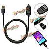 1.2m ток Smart напряжение LED данные синхронизации дисплей Micro-USB кабель быстрой зарядки