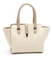 Стильная женская сумка бежевого цвета B.Elit art. 06-16, фото 1