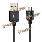 Pisen смартфон 2.4в1500мм Micro-USB зарядка кабель для передачи данных для мобильного телефона, фото 6