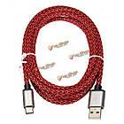 USB 3.1 Тип зарядного устройства данные с оплеткой провода 3м 9.9ft кабель для мобильного телефона ПК Tablet MacBook, фото 3