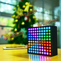 DIVOOM AURABOX 2000мАh 5w LED Smart APP управления беспроводной динамик Bluetooth  с эквалайзером