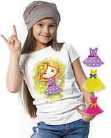 """Футболка и 3 сменных платья """"Top Fairy""""; 3, 4, 5, 6-7, 8-9, 10-11, 12-13 лет"""