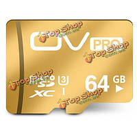 OV UHS-I U3 Micro-SD 3.0 PRO Class 10 64Гб b TF карта памяти SD, фото 1