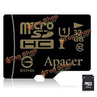 Apacer UHS-1 Class 32Гб 10 Micro карта памяти SD TF карта с адаптером