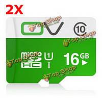 2 X OV USH-I Class 10 16Гб Micro-SD карта SDHC TF карта для мобильного телефона