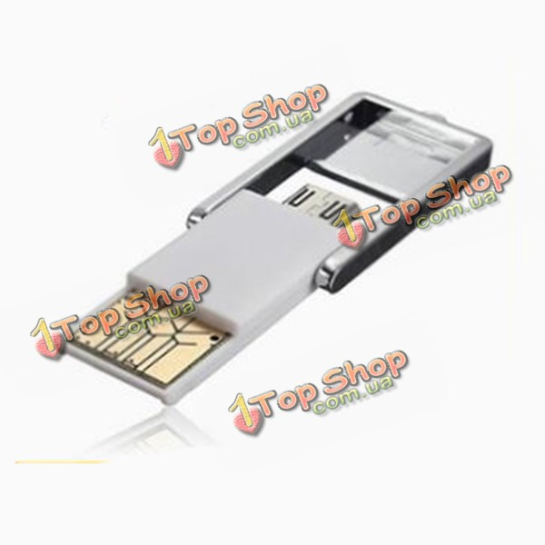 Многофункциональный OTG Micro-USB адаптер читателя комплект адаптер карта для мобильного телефона