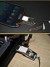 Многофункциональный OTG Micro-USB адаптер читателя комплект адаптер карта для мобильного телефона, фото 3