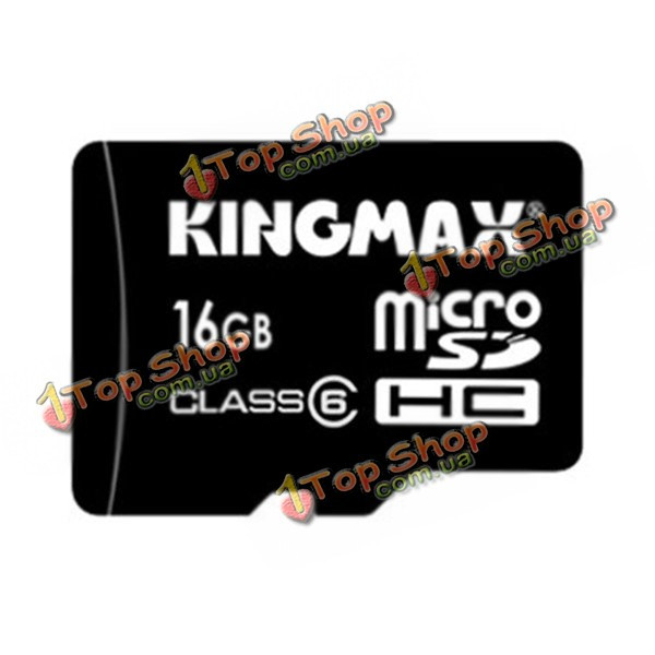 KingMax 16Гб Class 6 Micro-SD TF карта для Андроид