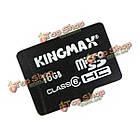 KingMax 16Гб Class 6 Micro-SD TF карта для Андроид, фото 2