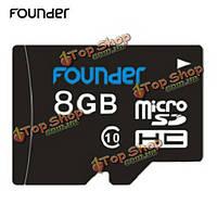 Founder 8Гб Class 10 Micro-SD карта Micro-SDHC карта памяти TF карта для мобильного телефона