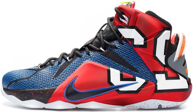 Мужские кроссовки Nike LeBron 12 What the LeBron 802193-909, Найк Леброн