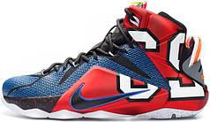 Баскетбольные кроссовки Nike LeBron 12 What The, найк леброн