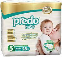 Подгузники детские PREDO BABY Junior 5 (11-25 кг.) Twin 28 шт
