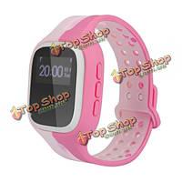 Умные часы соматосенсорной ответ GPS Wi-Fi BS трекер сигнализации для детей